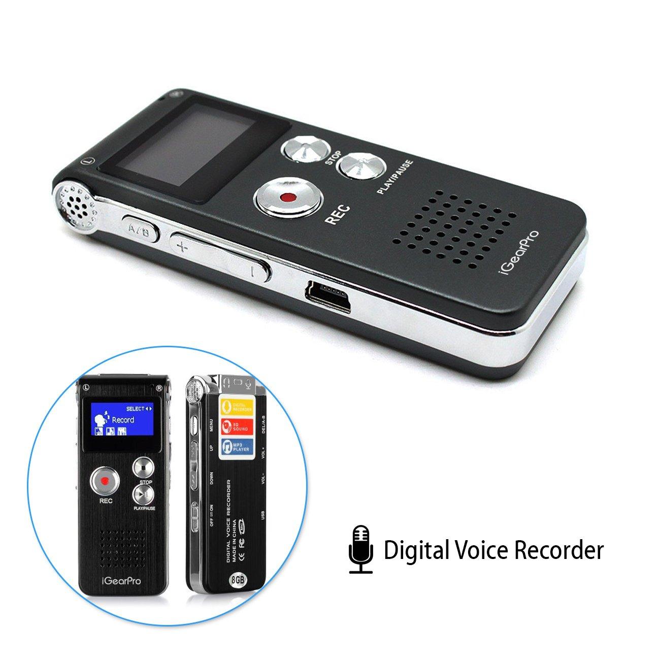 iGearPro 8GB Digital Audio Voi...