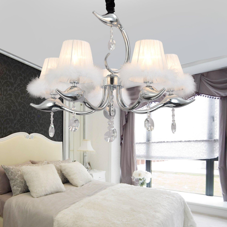 OOFAY LIGHT® Einfache und elegante Kristall-Lampen 5 einfachen europäischen Kristalllüster ...