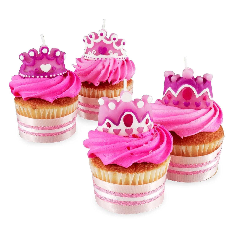 Super Wilton 4 Set Princess Queen Party Candles Cupcakes Cake Birthday Funny Birthday Cards Online Inifodamsfinfo