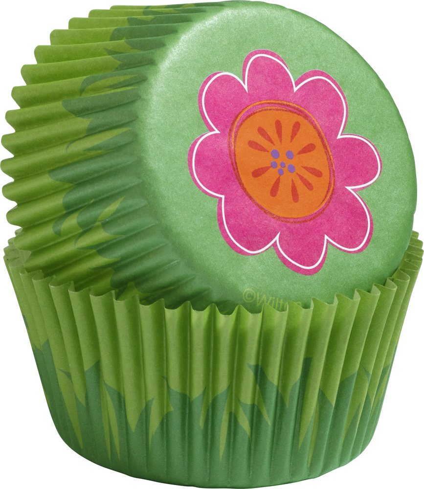 Wilton FLOWER Cupcake Decorating Kit Colourful Summer Birthday Party
