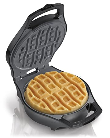 Waffle Maker With Measuring Batter Cup