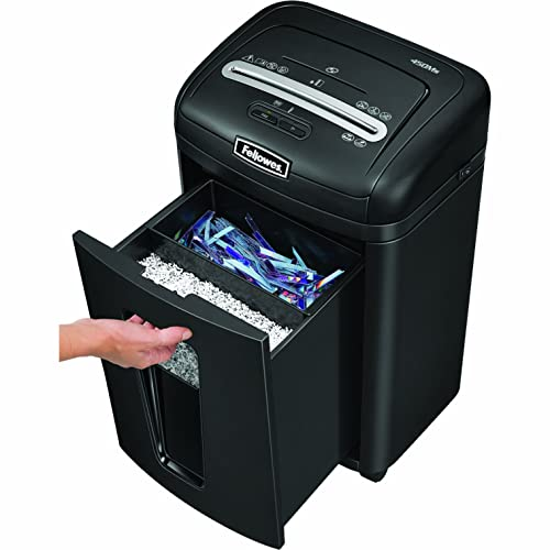 Fellowes 450Ms 7-Sheet Micro-Cut Shredder