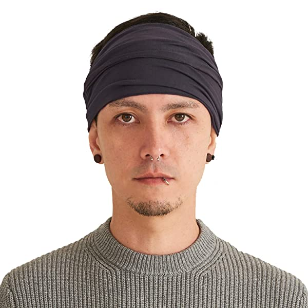 Mens Head Wrap Womens Hair Band By Casualbox Ccharm Headband Bandana Japanese Style