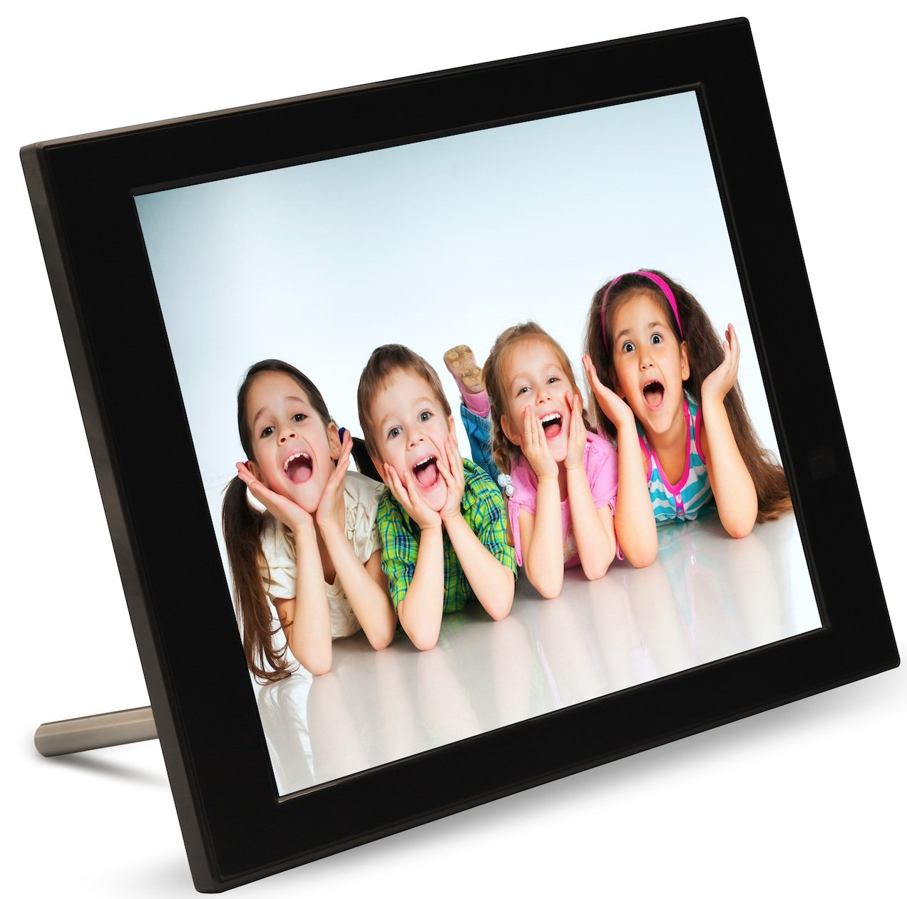 Pix star 15 inch wi fi cloud digital photo frame fotoconnect xd pix star 15 inch wi fi cloud digital photo frame fotoconnect xd with email online providers iphone android app dlna and more black jeuxipadfo Choice Image