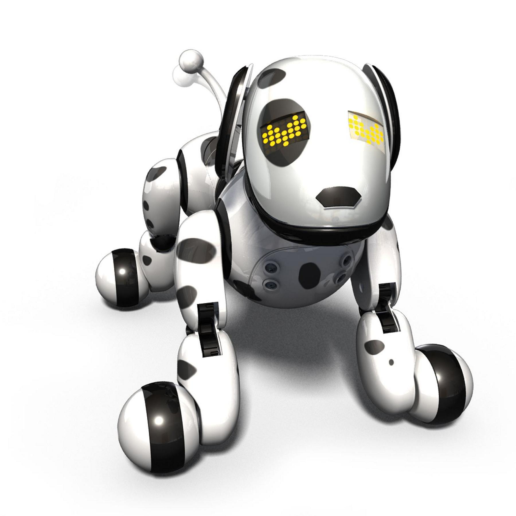 New ZOOMER Dalmatian Robot Electronic Dog, Zoomie Toy