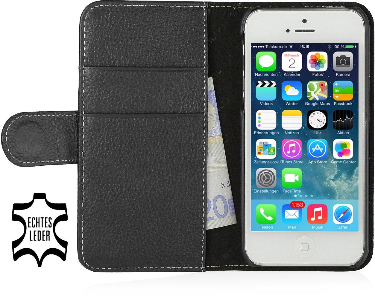 StilGut Ledertasche Case Talis V2 für das iPhone 5s