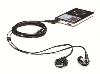 Shure SE215-K | best in ear headphones under 100