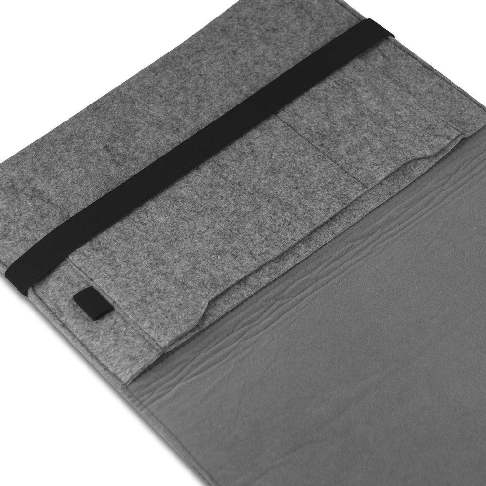 easyacc 13 3 zoll apple macbook pro filz sleeve h lle ultrabook laptop tasche ebay. Black Bedroom Furniture Sets. Home Design Ideas