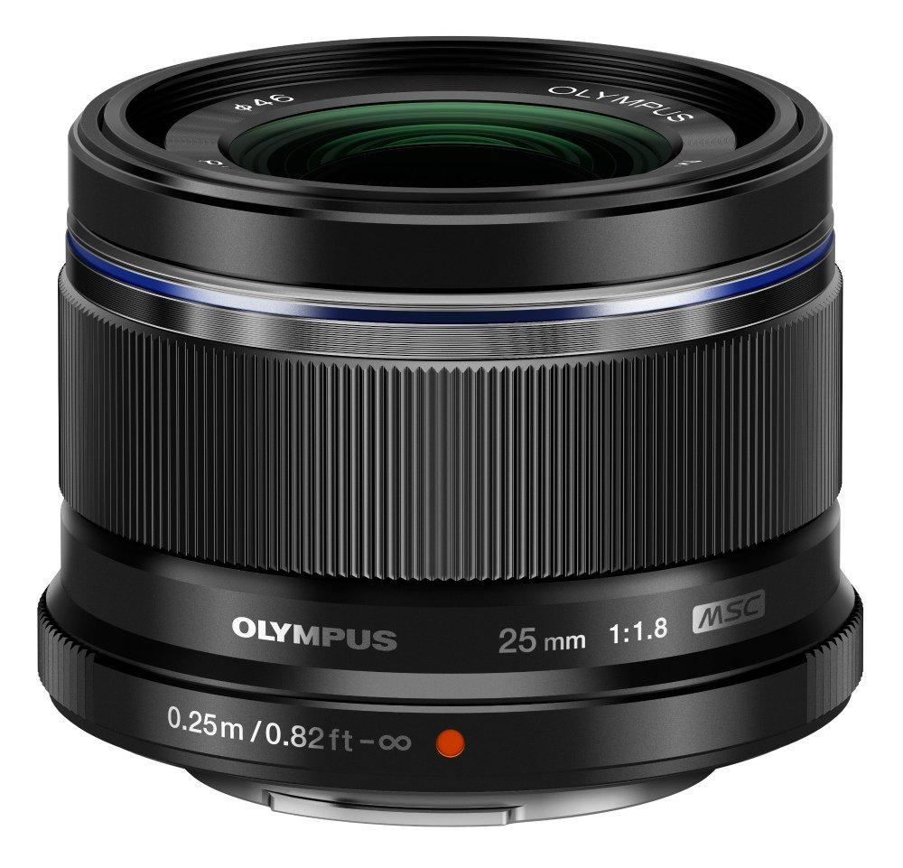 Negro NUEVO Olympus M.Zuiko 25mm f//1.8 Lente Micro para Cámara Digital