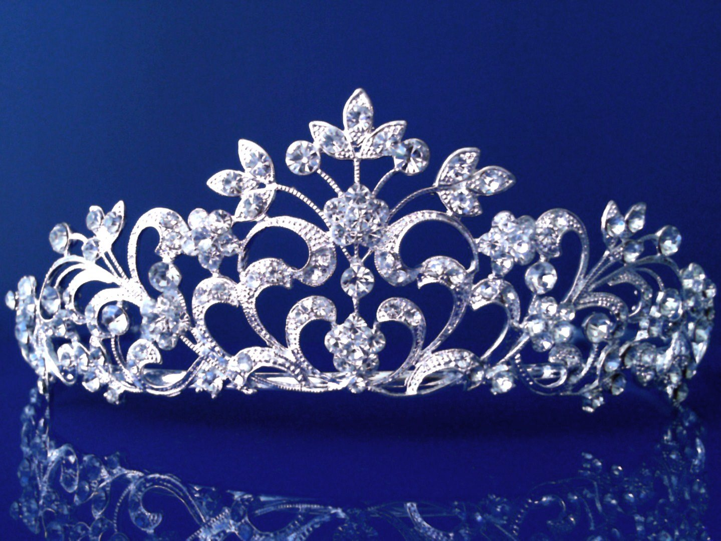 Princess Bridal Wedding Prom Rhinestone Crystal Tiara 12518