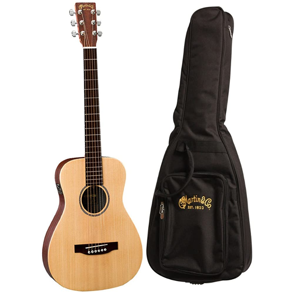 LX1E Little Martin Travel Guitar w/ Fishman Pickup - best acoustic guitar for beginners under 500
