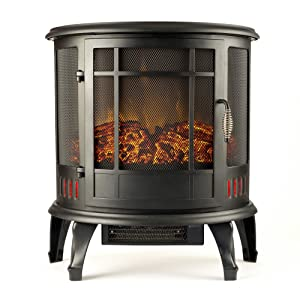 Regal Electric Fireplace Stove from e-Flame USA width=