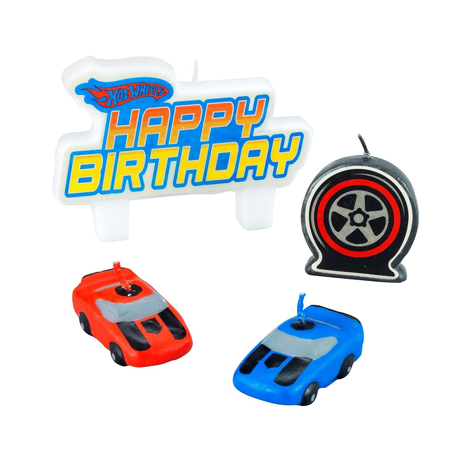 Hot Wheels Speed City Mini Molded Candles