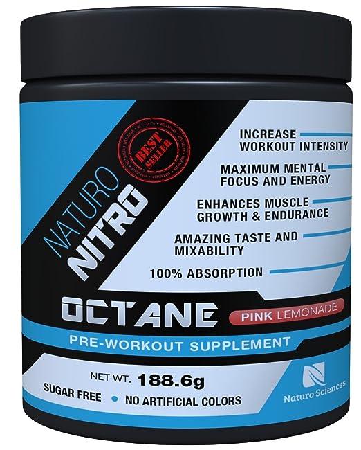 Naturo Nitro pre workout Octane