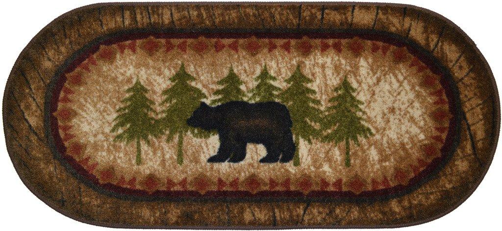 Cozy Cabin Birch Bear Rug