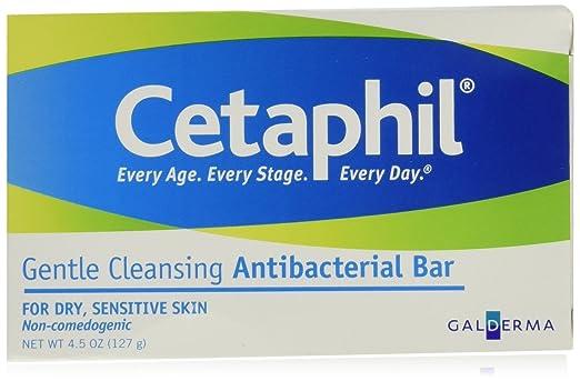 Cetaphil Antibacterial Cleansing Bar Reviews