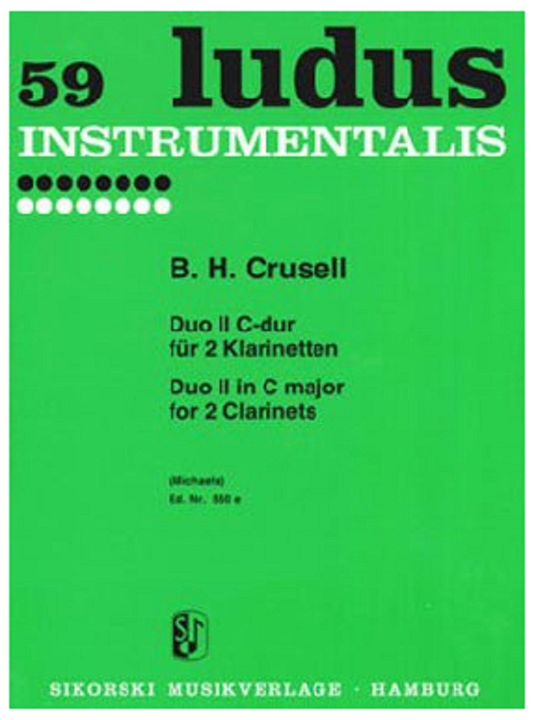 Duo-II-C-dur-fur-2-Klarinetten-Duo-II-in-C-for-2-Clarinets-Ludus-instrumental
