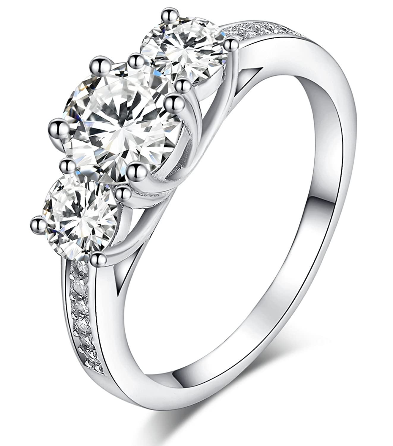 Top 10 Best Women s Diamond Engagement Rings Reviews 2016 2017 on
