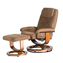 60-078011 Deluxe Leisure Recliner Chair with 8-Motor Massage & Heat