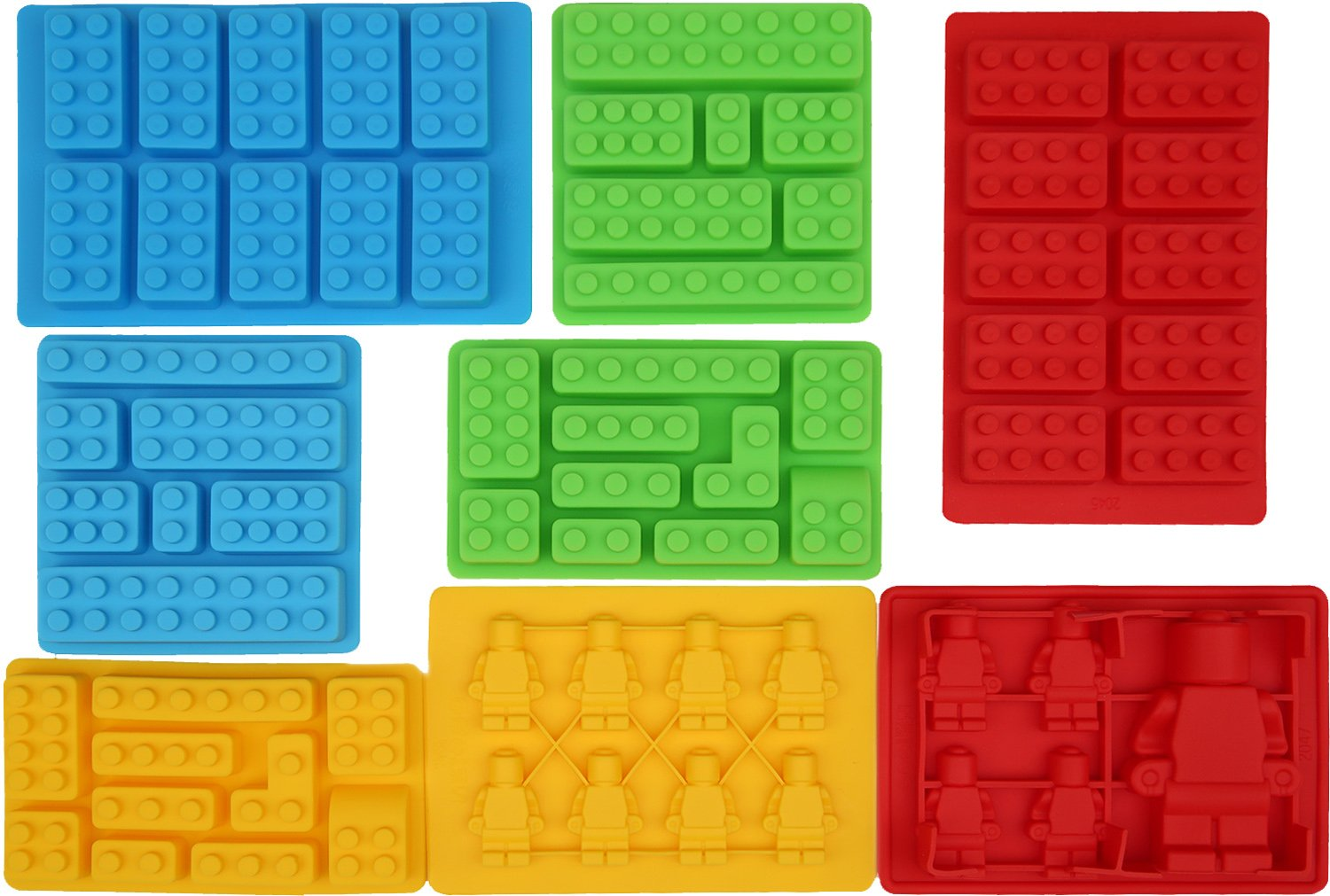8pc Candy Molds For Lego Lover...