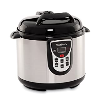 West Bend 6-Quart Stainless Pressure Cooker