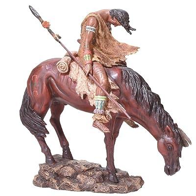 Native American Horse Statue