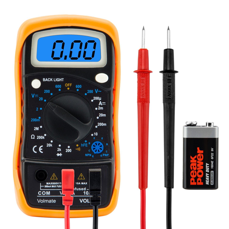 Electric circuit meters multimeters ebay digital voltmeter ammeter ohmmeter multimeter volt ac dc tester meter us seller biocorpaavc