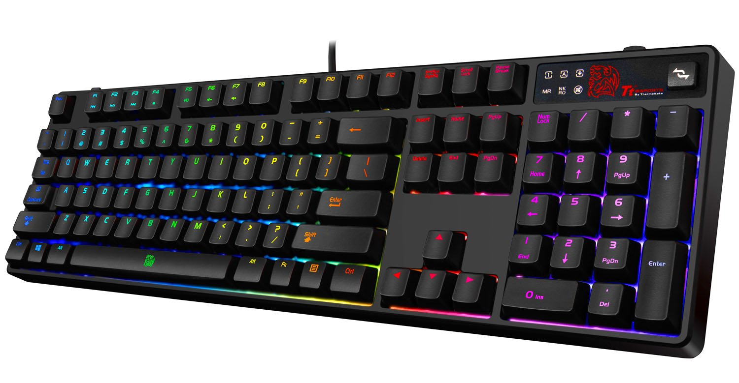 KB-PZR... Tt eSPORTS POSEIDON Z RGB LED BROWN SWITCH Mechanical Gaming keyboard