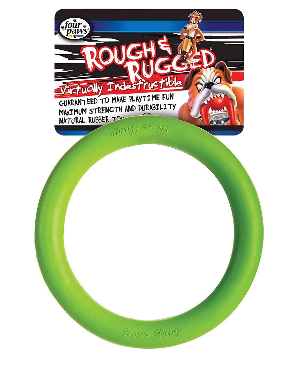Four paws rugged ring dog chew toy review