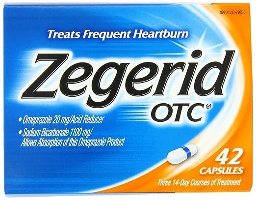 Zegerid OTC Capsules, 42-count