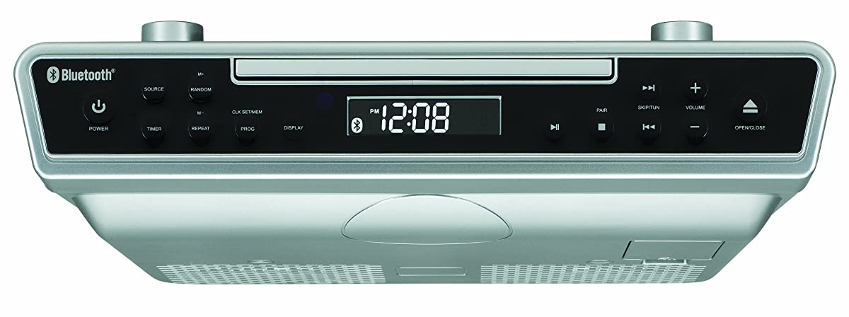kitchen radio under cabinet sylvania skcr2713 counter cd player with radio and 5544