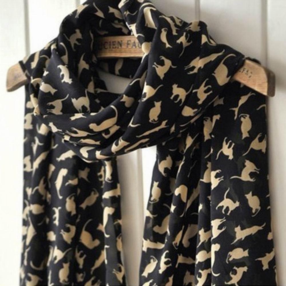 Amazon: Cat Lady Fashion Scarf...