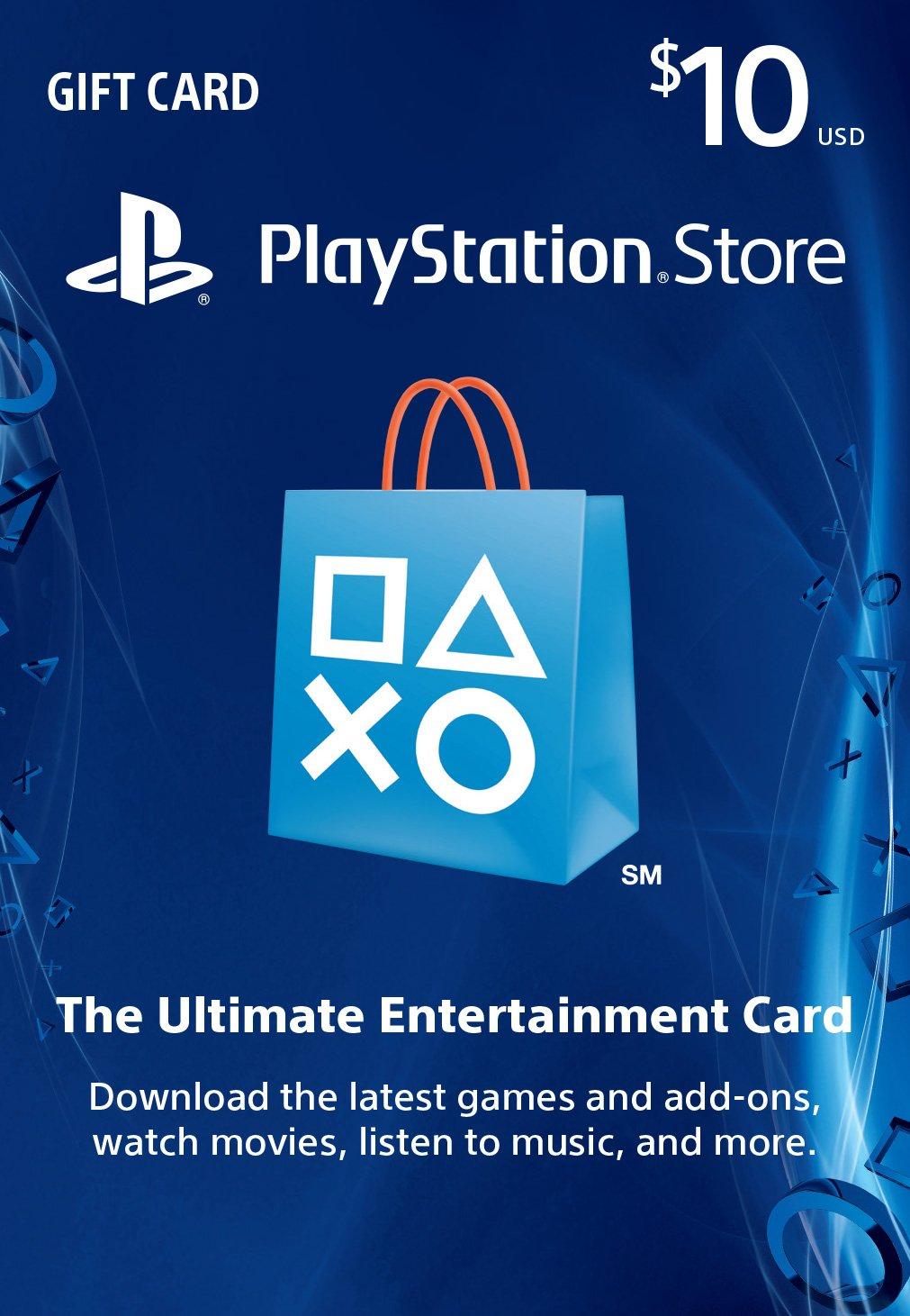 $10 PSN Card