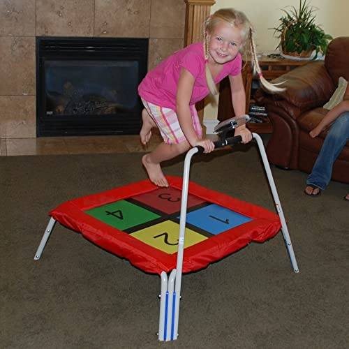 Skywalker 36 in. Square Bouncer with Spinner Counting Game