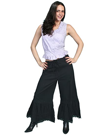 Steampunk Women's Pants & Bloomers Bloomers Black or Red  AT vintagedancer.com