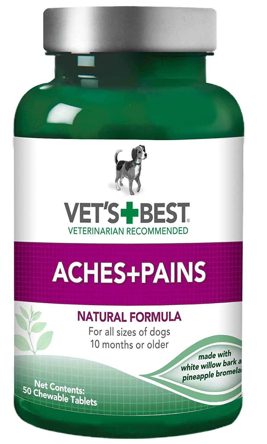 Vet's Best Aspirin Free Aches & Pains Dog Supplements