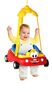 Little Tikes Cozy Coupe Doorway Jumper, Red/Yellow