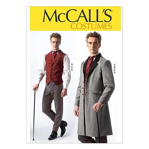 Victorian Mens Suits & Coats  Mens Costumes Size MEN (Small (34-36) Medium (38-40) Large (42-44) X-Large (46-48) XX-Large (50-52))                               $8.65 AT vintagedancer.com