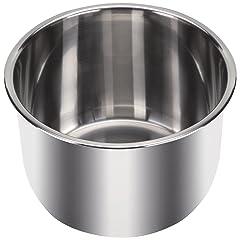 Instant Pot Inner Pot with 3 Ply Bottom, 6 quart, Stainless Steel