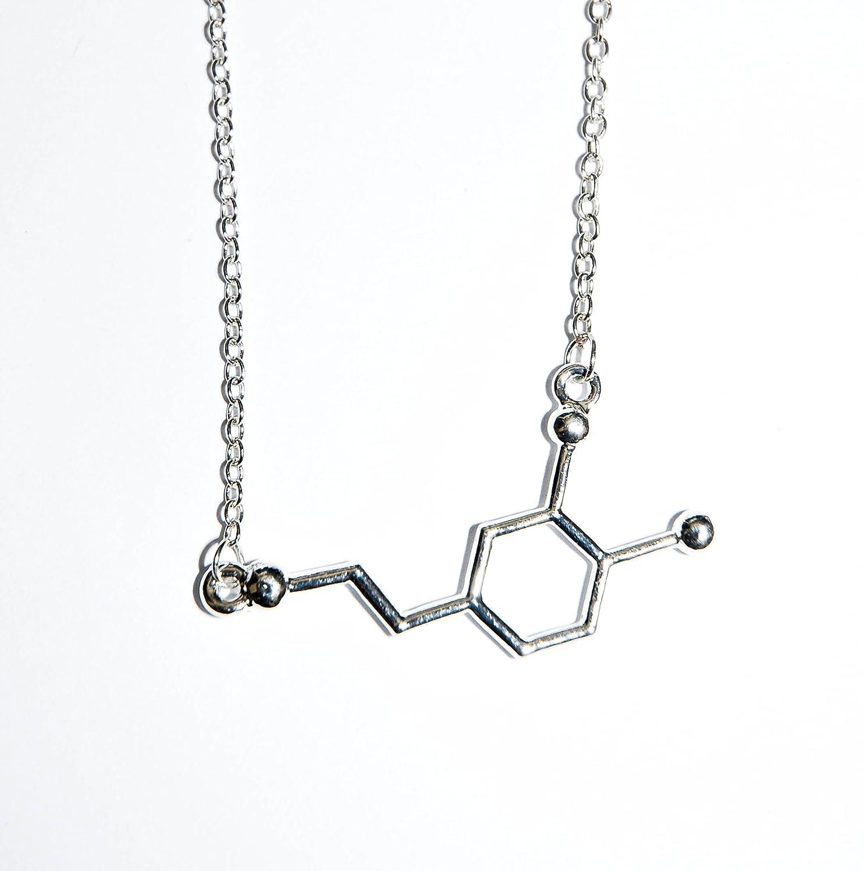 Dopamine Chemical Element Necklace