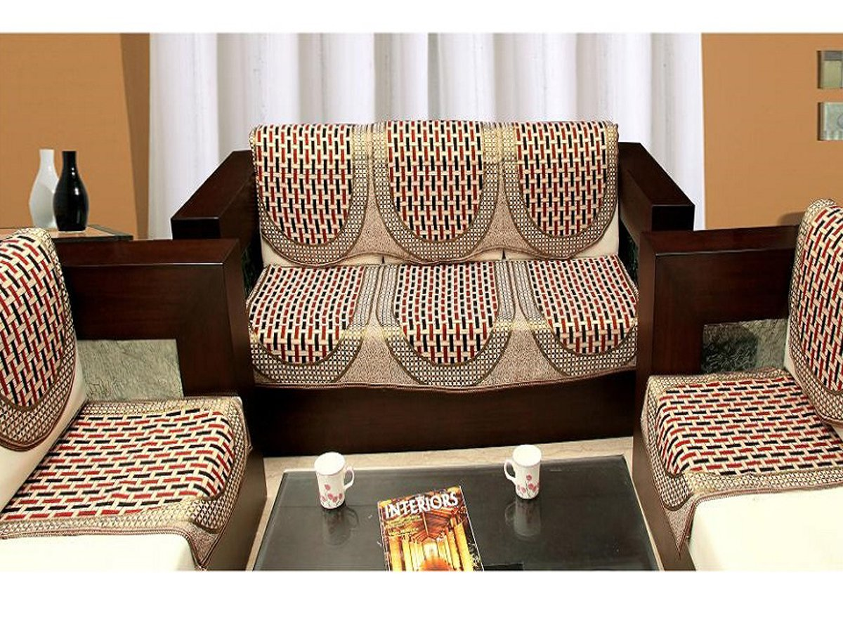 Sofa set covers online sofa menzilperdenet for Sofa seat cushion covers india