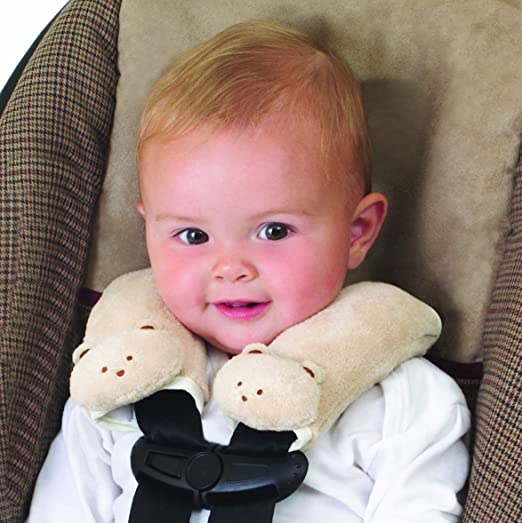 Infant Baby Car Seat Belt Strap Cover Pad Soft Safety