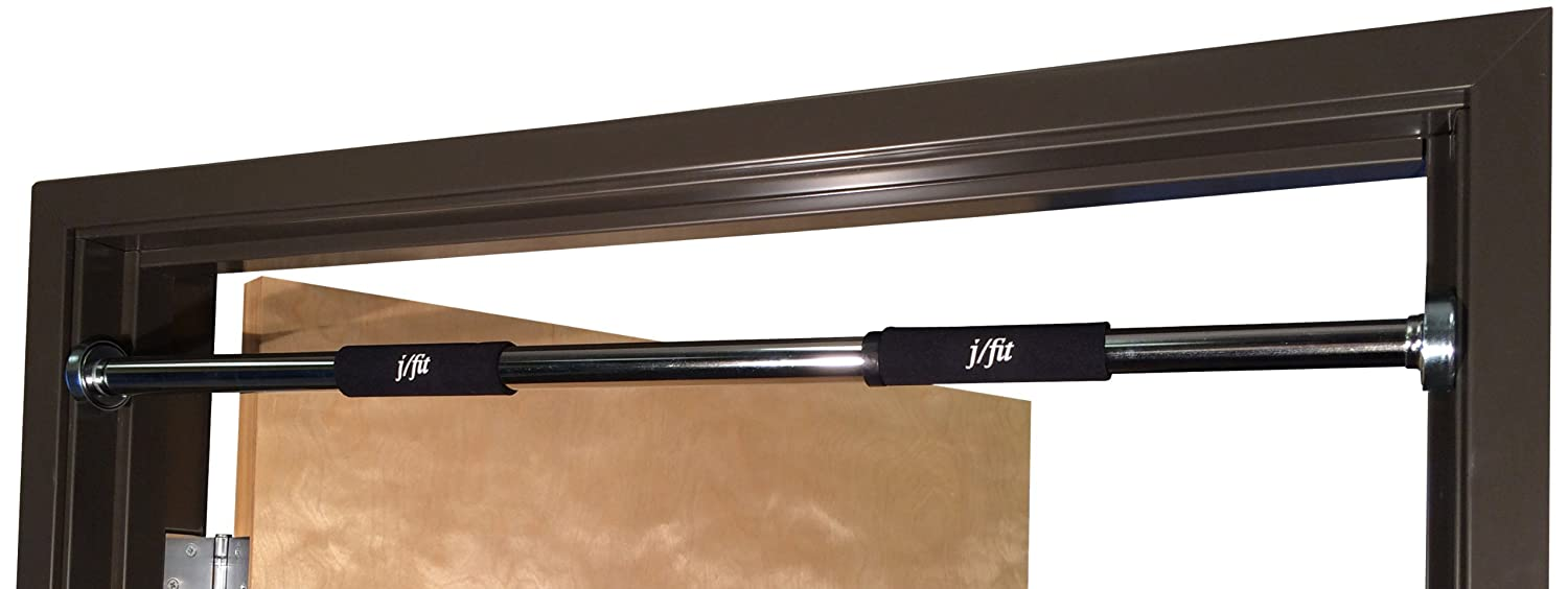 j/fit Deluxe Doorway Pull-Up Bar with Comfort Grips