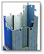 Empire State Building 216 Piece 3D Building Set