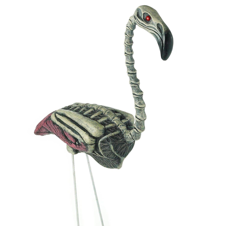 Zombie Flamingo Lawn Ornament.
