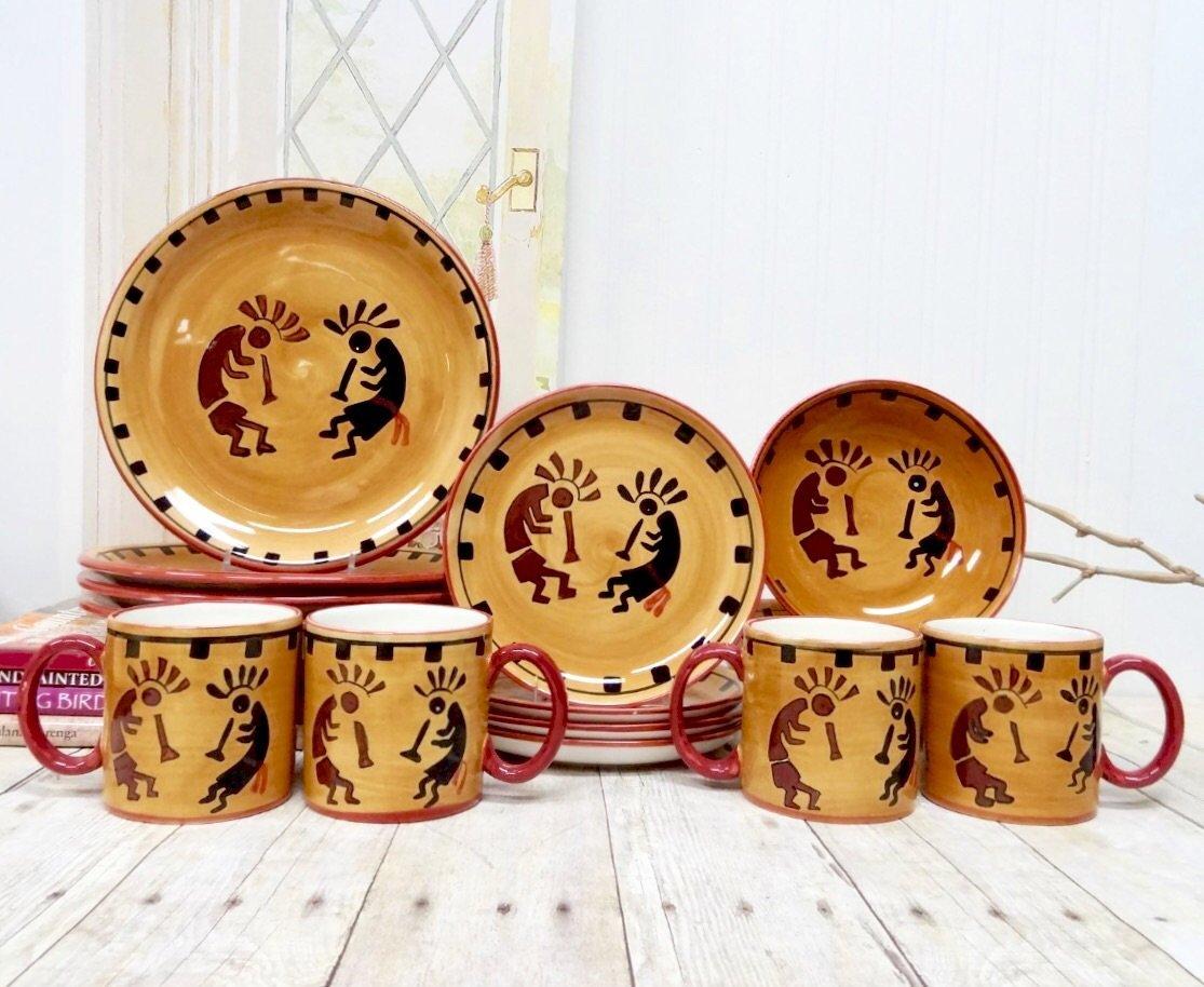 Kokopelli Collection Dinnerware Set