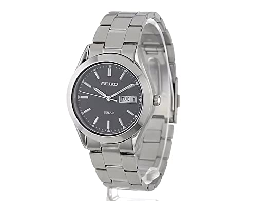 52731f37906a Seiko Men s SNE039 Solar Black Dial Watch- the full review