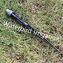 Generic Misting Sprinkler With Dripper Together Adjustable Flux For Garden And Lawn Potted Mist Micro Fittings...