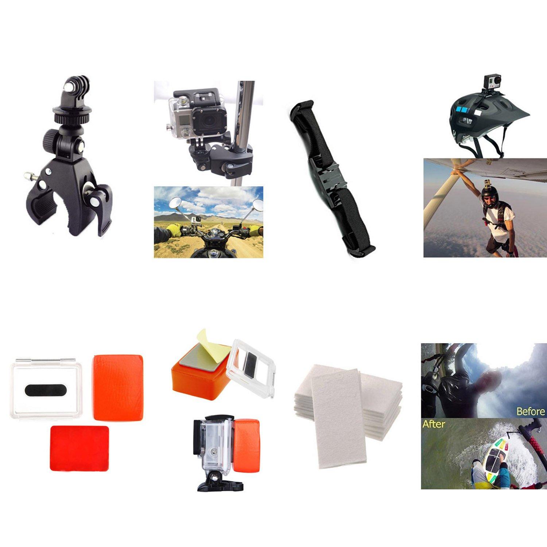 accessoires GoPro en action