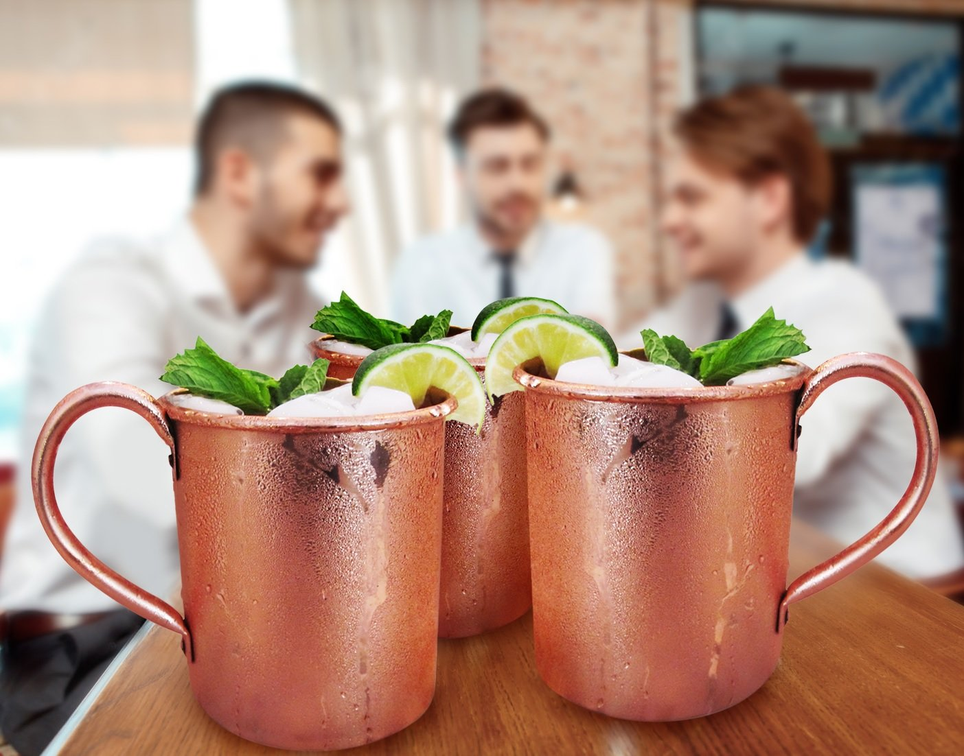 16 oz. Moscow Mule Cups Copper...
